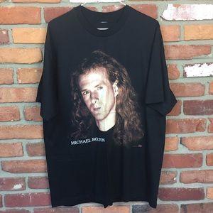 Vintage 1993 Michael Bolton t shirt size XL